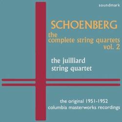 The Complete String Quartets, Volume 2: The Original 1951-1952 Columbia Masterworks Recordings by Schoenberg ;   Juilliard String Quartet