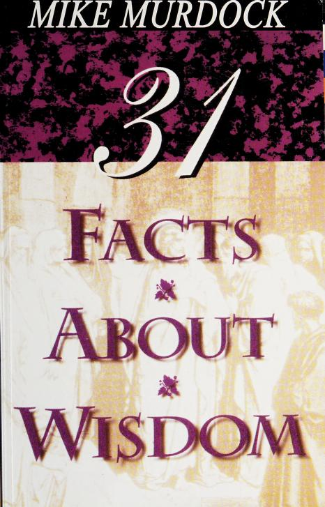 31 Facts About Wisdom by Mike Murdock