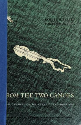 Cover of: From the two canoes | Samuel H. Elbert