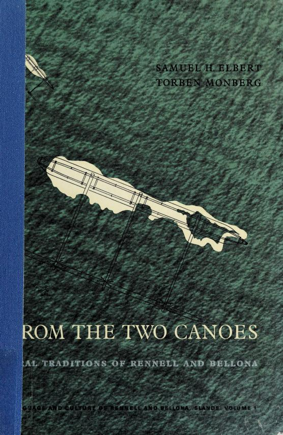 From the two canoes by Samuel H. Elbert