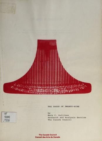 Cover of: The group of twenty-nine   Mary C. Sullivan