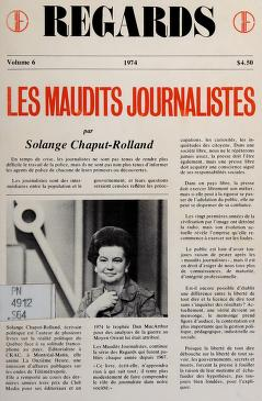 Cover of: Les maudits journalistes | Solange Chaput-Rolland