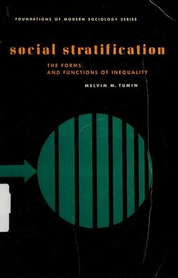 Cover of: Social stratification | Melvin Marvin Tumin
