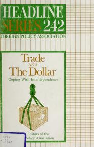 Cover of: Trade and the dollar : coping with interdependence |